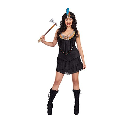 Reservation Royalty Costume - Brown - Women 1X/2X