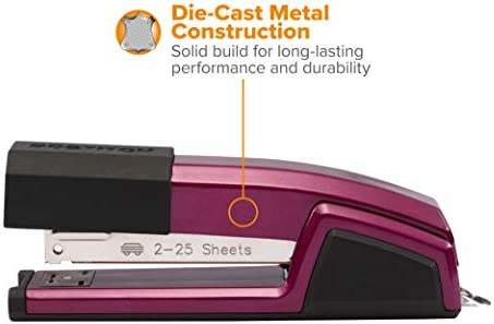 Amazon.com: Bostitch Epic, engrapadora, Magenta: Office Products