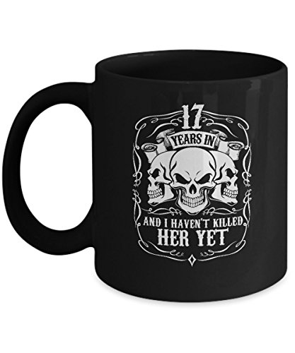 Top Mug For Men/Husband. 17 Years Wedding Anniversary Gifts
