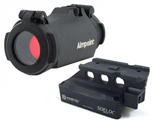 Aimpoint 200211 Micro H-2 Red Dot Sight 2 MOA LRP Mount 39mm Spacer