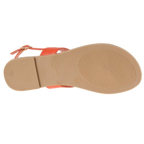 Bamboo strap Womens T Sandals Womens Bamboo Sequoia Orange Cpg1nwpq