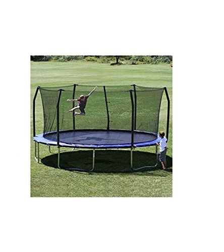 17 x15 Oval Trampoline and Enclosure Pad Color Blue