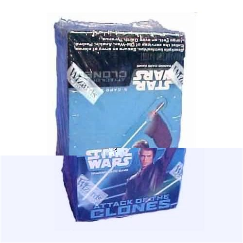 Star Wars Attack of the Clones Booster Box