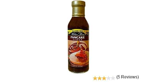 Walden Farms PANCAKE SYRUP, 355gr (sirope dulce para las tortitas sin calorías)