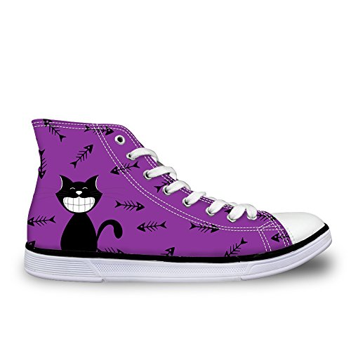 Coloranimal 5 Alto Donna Collo cat nxravRnf