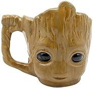 Caneca 3d Baby Groot Marvel 350ml