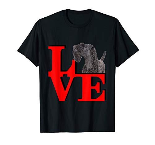 My Kerry Blue Terrier Love Park  T-Shirt