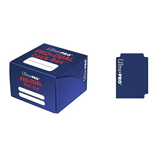 Ultra Pro 330534 - Jeu De Cartes - Deckbox - Pro Dual - Bleu - C30