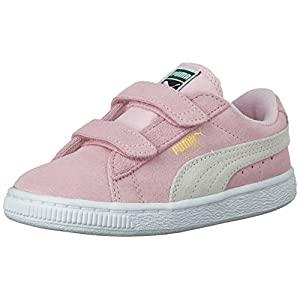 PUMA Unisex- Kids Suede 2 Straps Sneaker