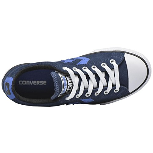 Zapatilla Converse jr Star Player EV Navy-Oxygen Blue-White Navy