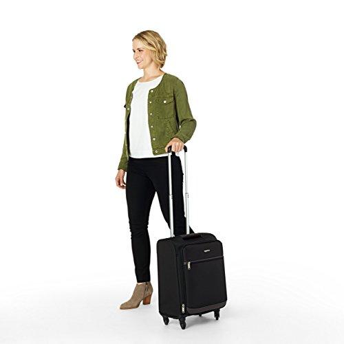 AmazonBasics Softside Spinner Luggage - 21 Inch