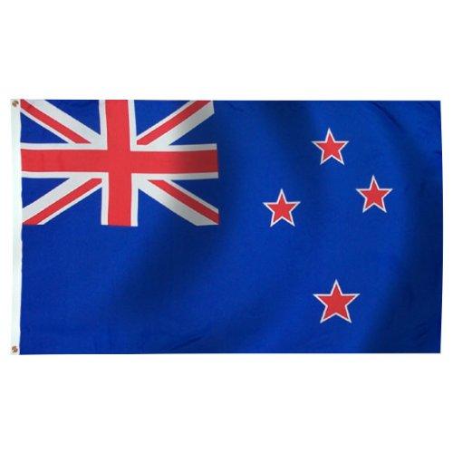 New Zealand Flag 3X5 Foot Nylon