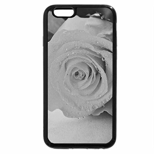 iPhone 6S Plus Case, iPhone 6 Plus Case (Black & White) - Rose