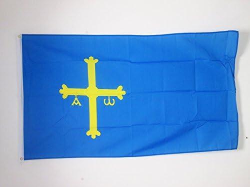AZ FLAG Bandera del PRINCIPADO DE Asturias 150x90cm - Bandera ...