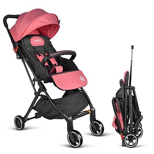 Besrey Baby Stroller for Airplane Compartment