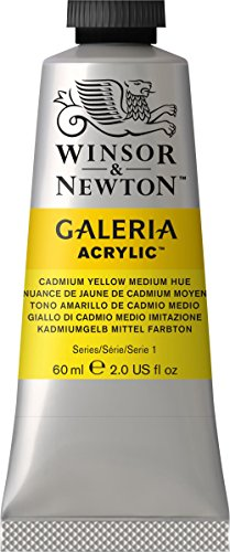 galeria-acrylic-paint-60ml-tube-cadmium-yellow-medium-hue