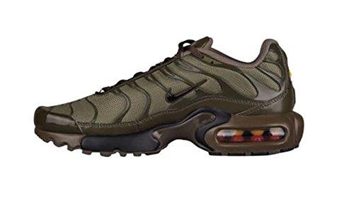 nero Medio 1 gs Forte Scuro Scarpe Sportive Max Air Tn Nike Tennis Tuned 655020 Oliva loden Da wYCq6nO