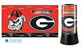 WinCraft NCAA University of Georgia Rotating Lamp, 12'' H