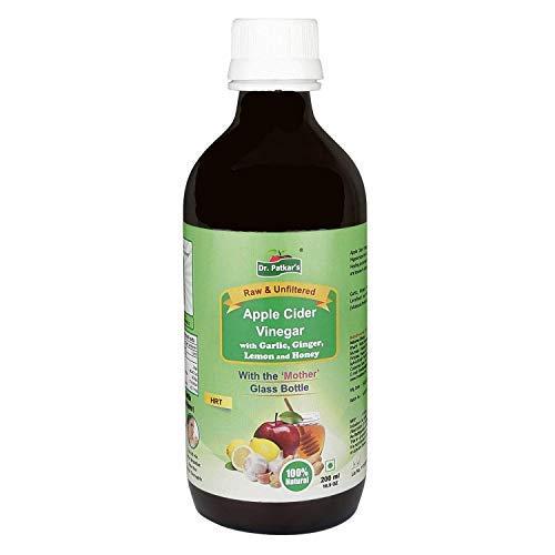 Dr. Patkar's Apple Cider Vinegar with Garlic, Ginger, Lemon and Honey 200ml by Dr. Patkar's