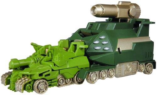 Transformers Vehicle BS04 - Hyper Tank & Hyper Tank Base by Takara Tomy