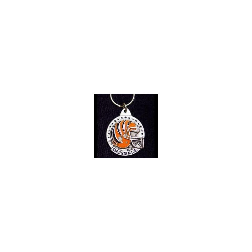 NFL Team Helmet Key Ring   Cincinnati Bengals