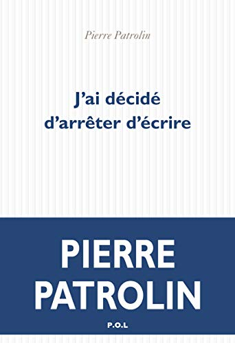 Jai Dcid Darrter Dcrire FICTION French Edition