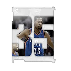 HUS00942 Brand New Custom Hard 3D Cover Case with Kevin Durant for Ipad 2/3/4 at Hushell