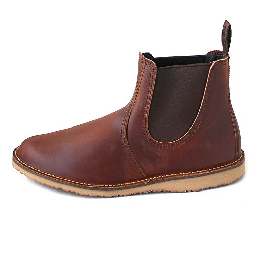 Chelsea Uomo Wing Shoes Red Stivali Braun Hawthorne OcRtFIqFW4