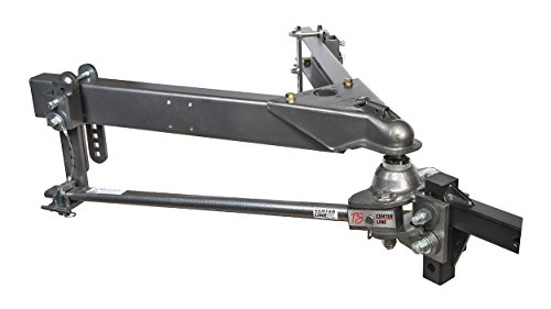 Husky 32218 Center Line TS with Spring Bars - 800 lb. to 1,200 lb. Tongue Weight Capacity (2-5/16