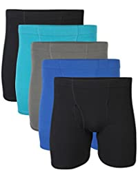 Gildan Mens Standard Covered Waistband Boxer Brief Multipack