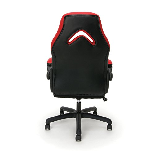 416mB0OXfIL - Essentials-Racing-Style-Leather-Gaming-Chair-Ergonomic-Swivel-Computer-Office-or-Gaming-Chair-Gray-ES-3085-GRY