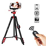 ZOMEi Phone Tripod, Cell Phone Tripod Camera Tripod with Bluetooth...