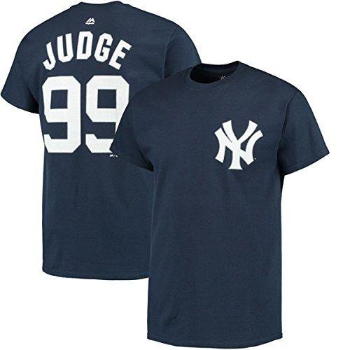 Number Mlb Name Mens Player (VF Aaron Judge New York Yankees #99 MLB Men's BIG & TALL Player Name & Number T-shirt (6XB))