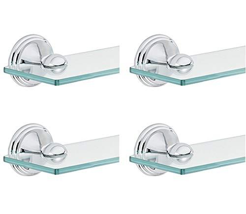 - Moen DN8490CH Preston Bathroom Vanity Shelf, Chrome (Pack of 4)
