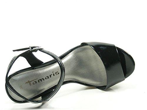Tamaris 1-28002-38-018 Sandalias Para Mujer Schwarz