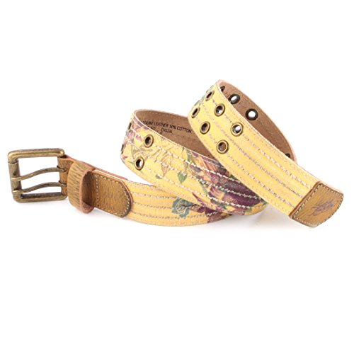 Ed Hardy EH3336 Womens Paradise Canvas Belt - Tan/Small (Ed Hardy Accessories)