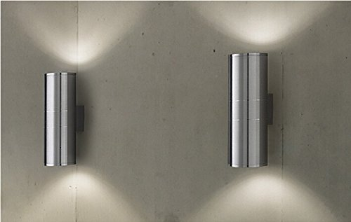 Luminturs pack2 12w led outdoor external wall sconces updown luminturs pack2 12w led outdoor external wall sconces updown fixture li aloadofball Image collections