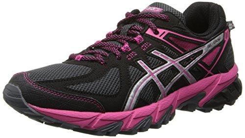 ASICS Women's GEL-Sonoma Running Shoe,Graphite/Silver/Magenta,10 M US