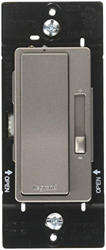 Legrand-Pass & Seymour RHCL453PNICCV4 450 W CFL/ LED Dimmer Switch, 3-Way / Single Pole Radiant Dimmer Switch, Black