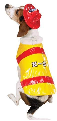 Pawfield Fire Chief Dog Costume XSMALL (Dog Firefighter Costume)