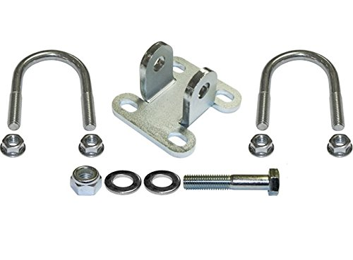 Currie Enterprises JK-9703SB CURRECTLYNC Steering Stabilizer Shock Bracket Kit (For 1 5/8'' Tube Tie Rod) by Currie