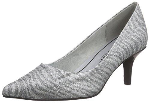 Zapatos plateado formales Marco Tozzi para mujer Barato Venta Pick A Best UfnQBVG