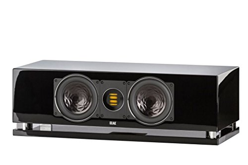 ELAC CC400 Center Channel Home Speaker (Black) by Elac