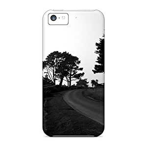 Fashion Protective Trees At The Sea Side Case Cover For Iphone 5c