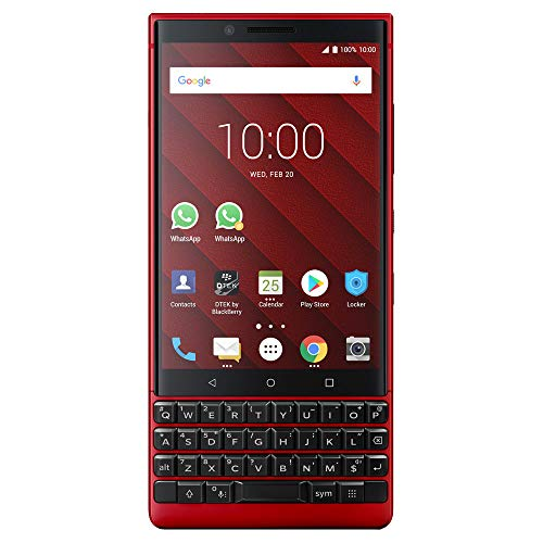 BlackBerry KEY2 Red Unlocked Android Smartphone (AT&T/T-Mobile) 4G LTE, 128GB by BlackBerry (Image #5)