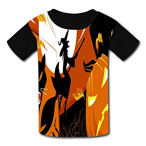 The Carnival Of Halloween Child Short Sleeve Fashion T-Shirt Of Boys And Girls Xl]()