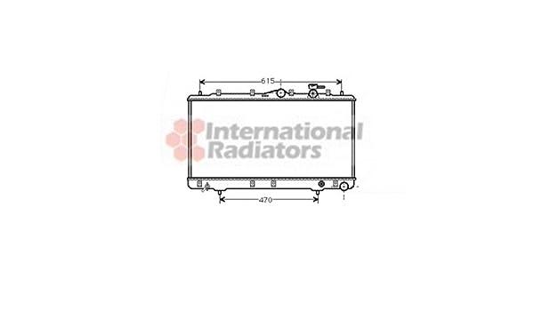 Van Wezel 5894749/Ventilador refrigeraci/ón del motor
