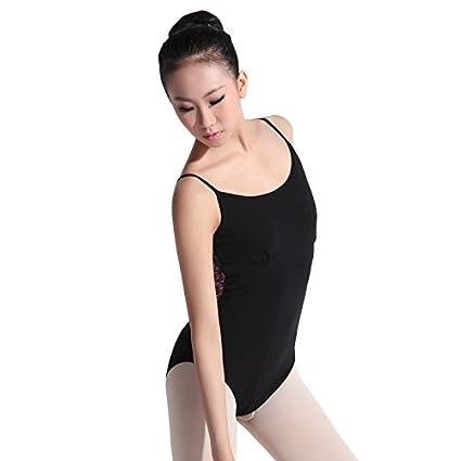 18bf4484f476 Amazon.com : 116141048 Baiw Dance Camisole Printed Leotard Ballet ...