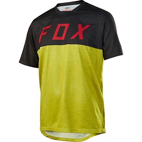Fox Racing Indicator Jersey - Men's Black/Yellow, L by Fox Racing