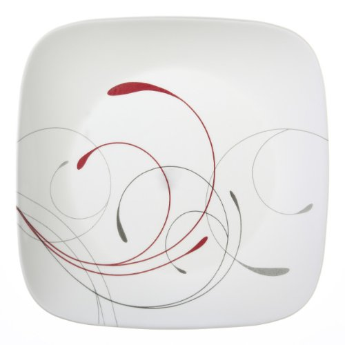 Corelle Square Splendor 10-1/4-Inch Plate Set (6-Piece) -